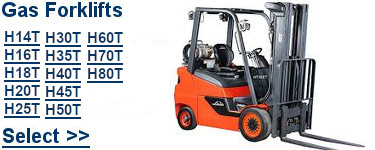 Select Linde Gas Forklifts